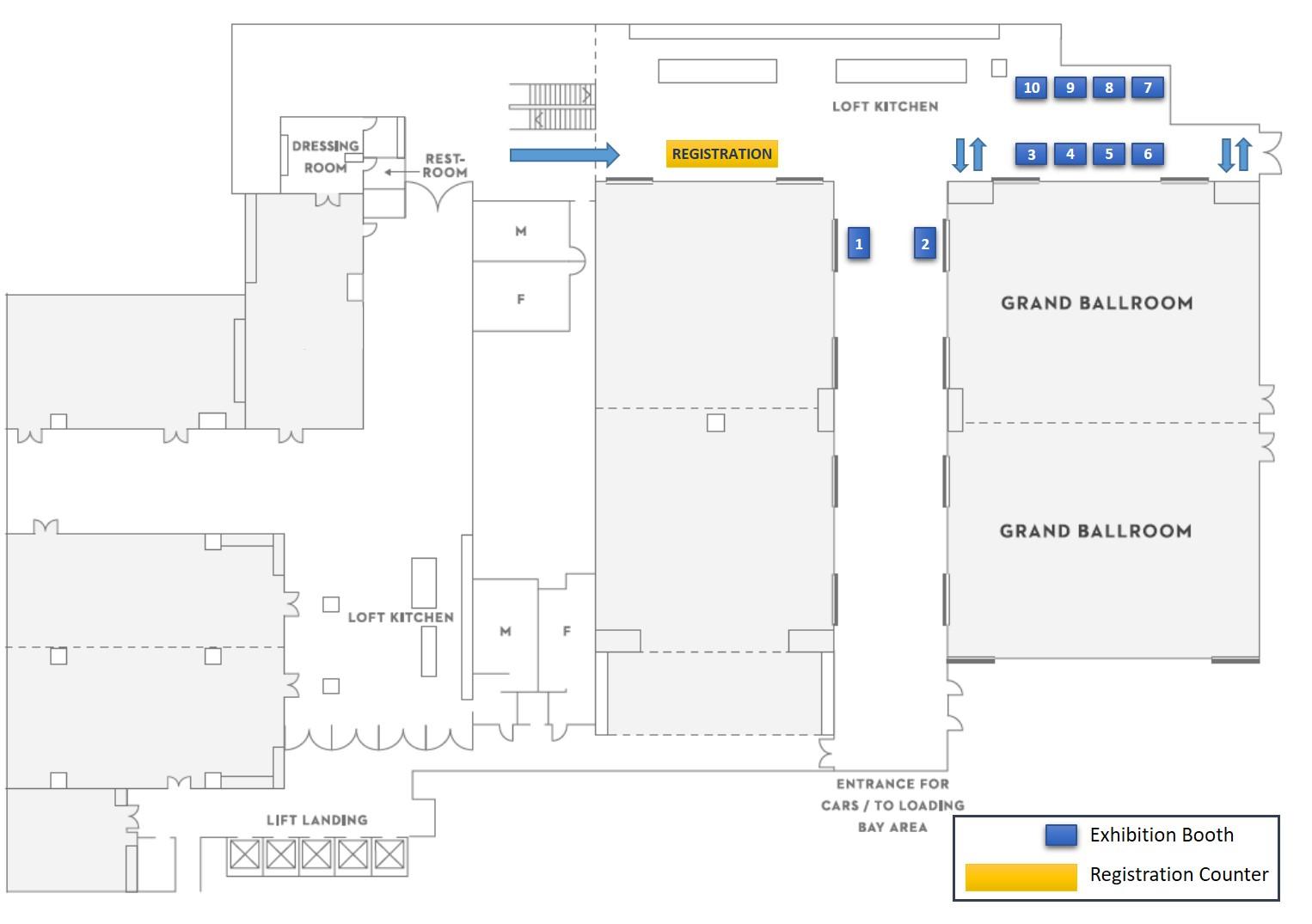 Grand Hyatt Floorplan